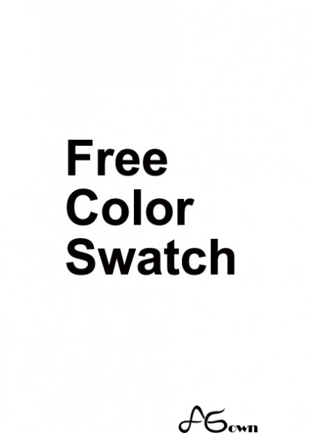 For free color swatch
