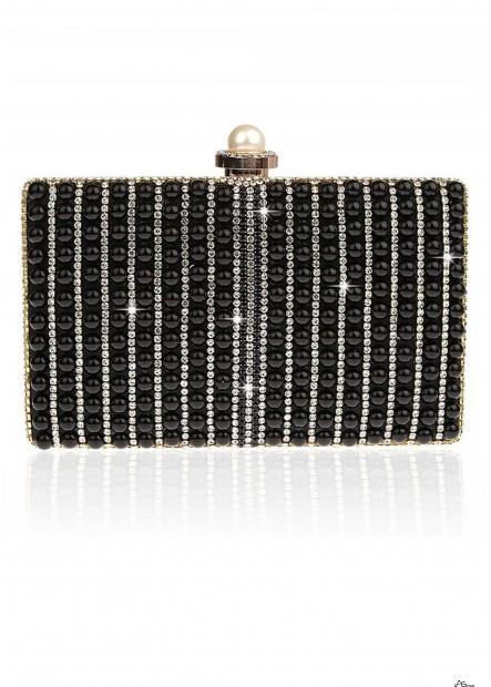 Fashion Pearl Lady Party Handbags T901556159514
