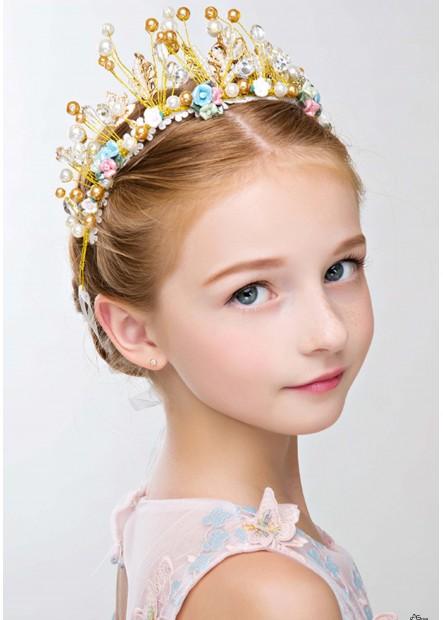 Charming Kid Wreath Tiaras T901556676640