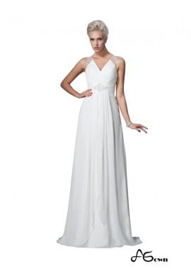agown 2020 Beach Wedding Dresses T801524715388
