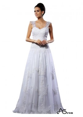 agown 2020 Beach Lace Wedding Dresses T801524715126