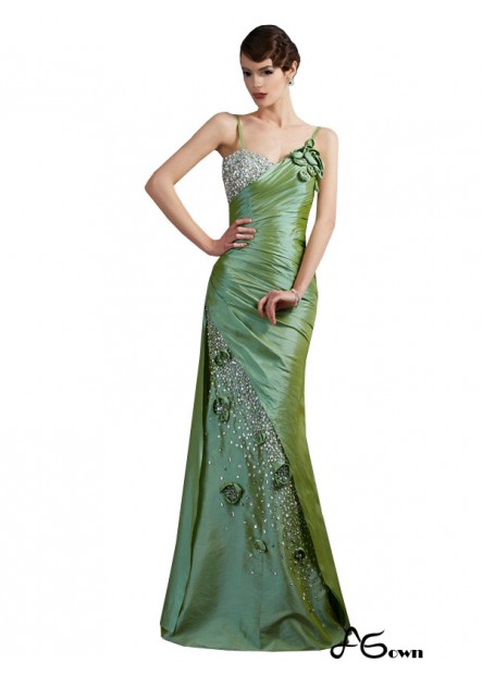 Agown Mermaid Long Prom Evening Dress T801524706670