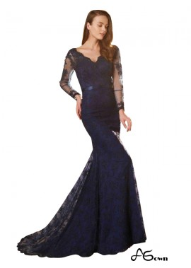 Agown Long Prom Evening Dress T801524705292