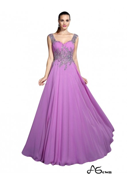 Agown Sexy Prom Evening Dress T801524705275