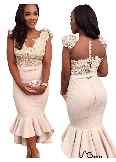 Agown Mermaid Long Prom Evening Dress T801524703652