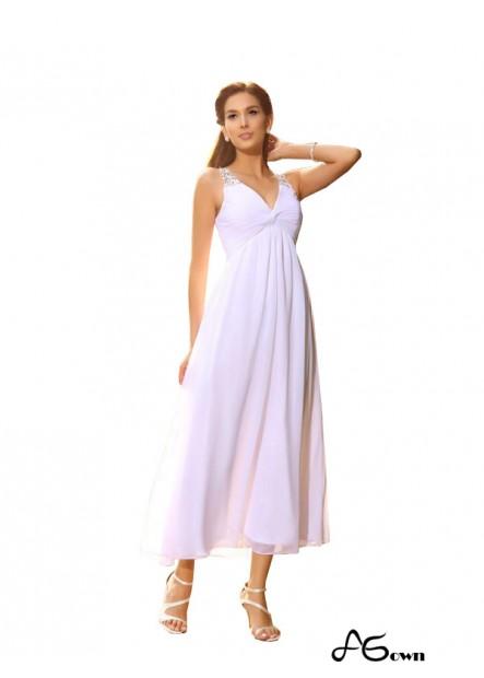 Agown 2021 Beach Short Wedding Dresses T801524715319