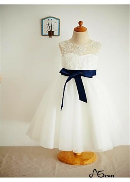 Agown Flower Girl Dresses T801524726693