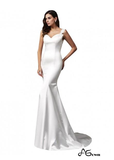 Agown 2021 Beach Wedding Dresses T801524715028