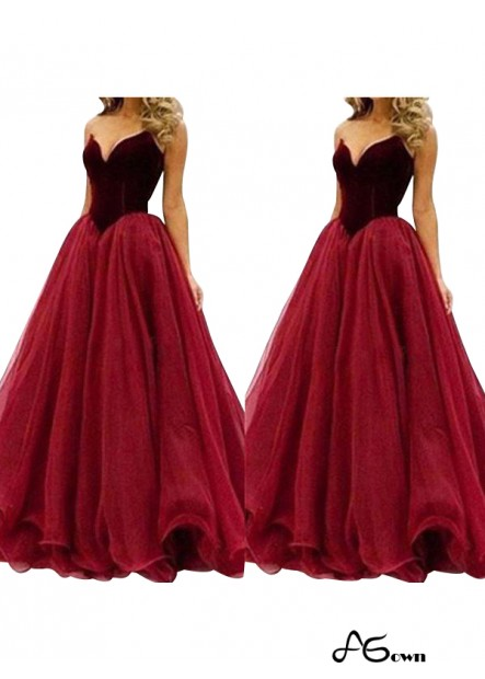 Agown Long Prom Evening Dress T801524703976