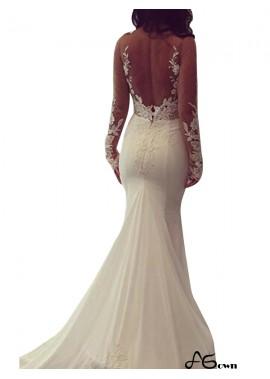agown 2020 Beach Wedding Dresses T801524714959