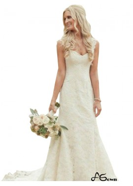 agown 2020 Lace Wedding Dress T801524714791