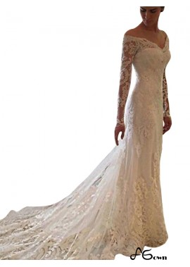 agown 2020 Beach Lace Wedding Dresses T801524714687