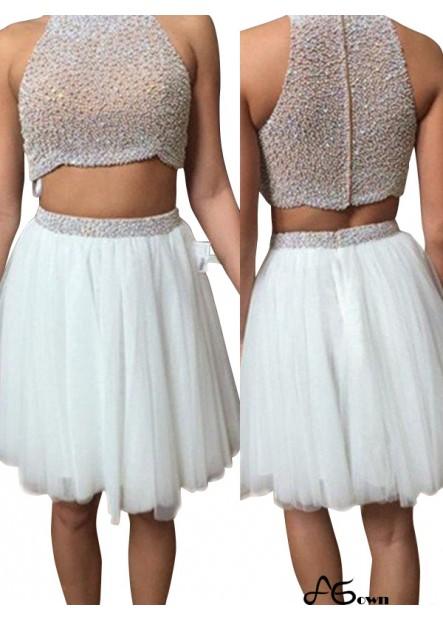 Agown Short Evening Dress T801524705543