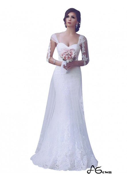 Agown 2021 Beach Wedding Dresses T801524714822