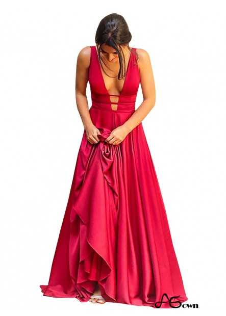 Agown Classy Long Prom Evening Dress T801524703575