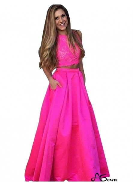 agown Two Piece Long Prom Evening Dress T801524705366