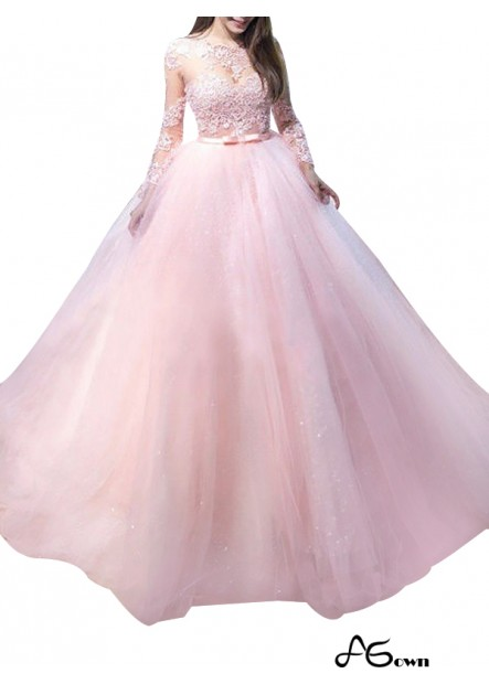 Agown Long Prom Evening Dress T801524703818