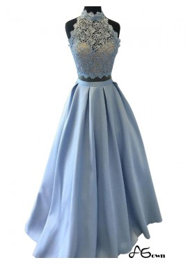 Agown Two Piece Long Prom Evening Dress T801524703911