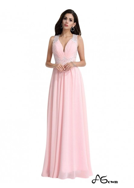Agown Long Prom Evening Dress T801524705934