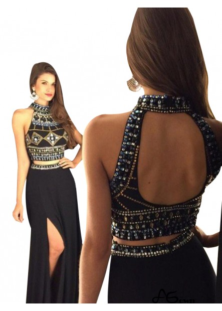 Agown Long Prom Evening Dress T801524704291