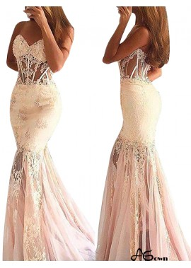 Agown Mermaid Long Prom Evening Dress T801524704029