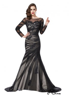 Agown Mermaid Long Prom Evening Dress T801524705224