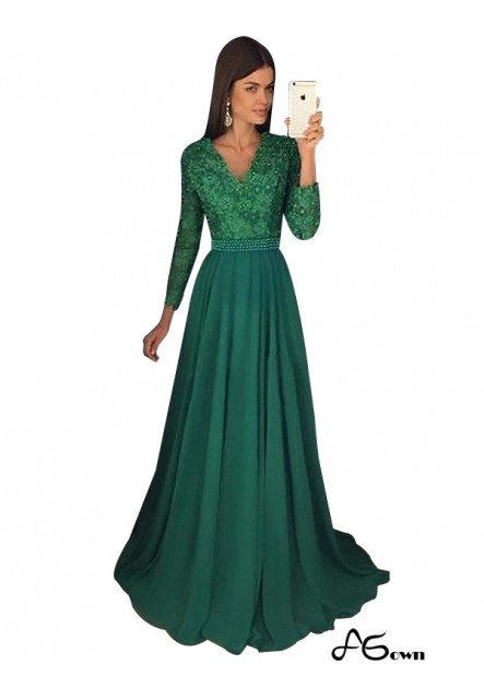 Agown Long Prom Evening Dress T801524704173
