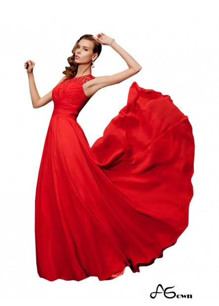 Agown Long Prom Evening Dress T801524707233