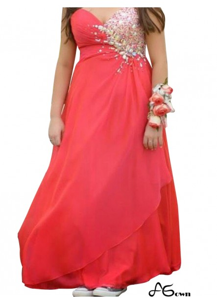 Agown Plus Size Prom Evening Dress T801524708044