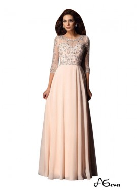 Agown Sexy Long Prom Evening Dress T801524704113