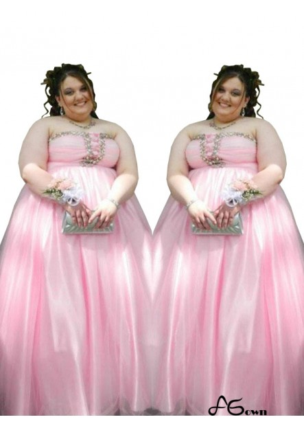 Agown Plus Size Prom Evening Dress T801524706742