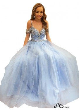 Agown Long Prom Evening Dress T801524703837