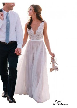 agown 2020 Beach Wedding Dresses T801524714639