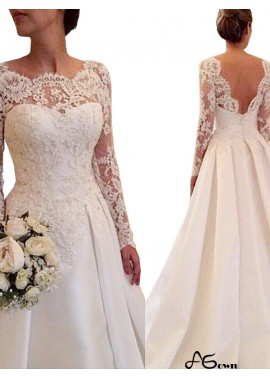 agown 2020 Lace Wedding Dress