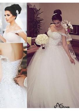 agown 2020 Beach Wedding Ball Gowns T801524714692