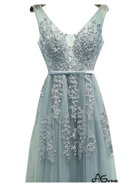 Agown Long Prom Evening Dress T801524703740