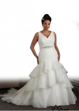 agown Plus Size Wedding Dress T801525326258