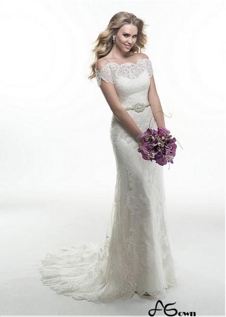 Agown Beach Wedding Dresses T801525326803