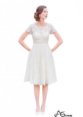 Agown Short Wedding Dress T801525328867
