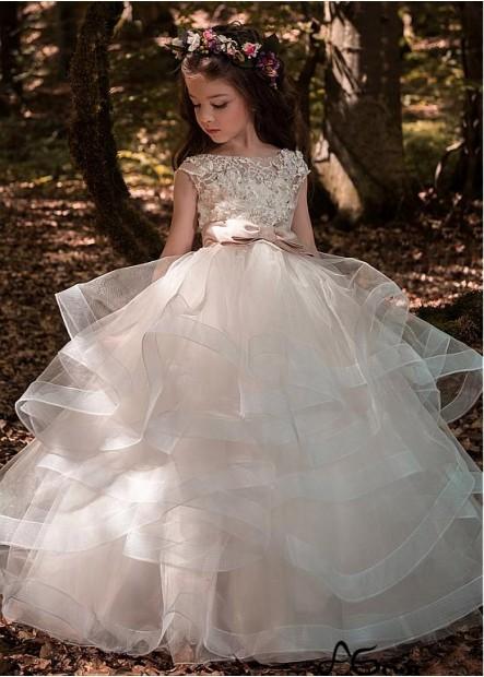 Agown Flower Girl Dresses T801525393490