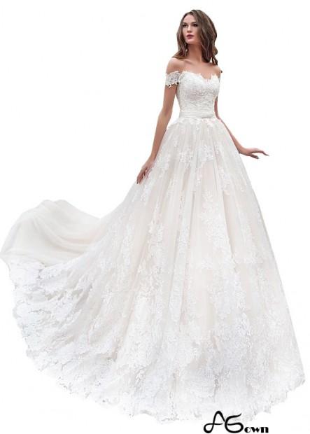 Agown Cheap Wedding Gown