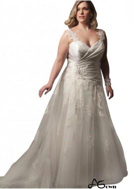 agown Lace Plus Size Wedding Dress T801525387323
