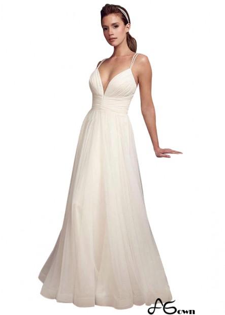 Agown Beach Wedding Dresses T801525320210