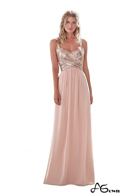Agown Bridesmaid Dress T801525353745