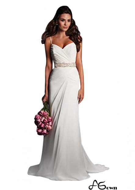 Agown Beach Wedding Dresses T801525317572