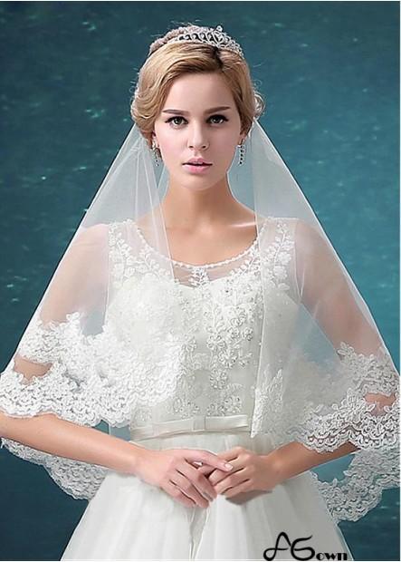 Agown Wedding Veil T801525382047