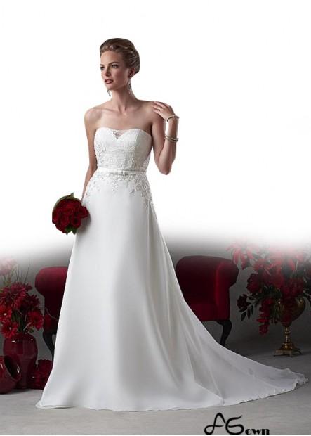 Agown Plus Size Wedding Dress T801525331202