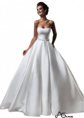 Agown Beach Wedding Ball Gowns T801525332724