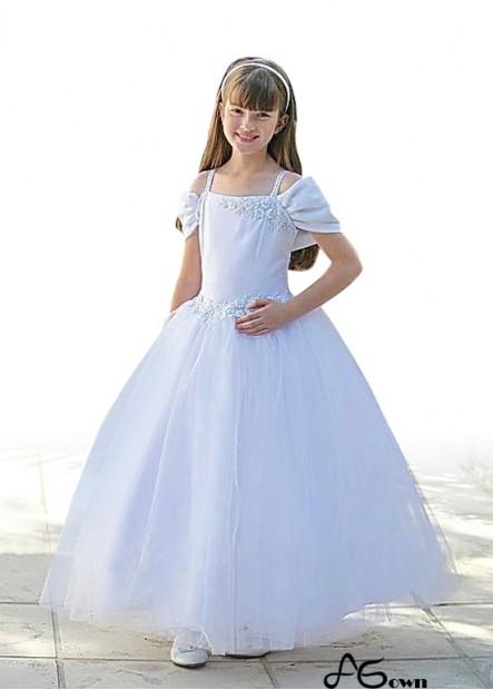 Agown Flower Girl Dresses T801525394302