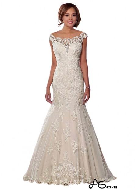 Agown Plus Size Wedding Dress T801525317956